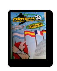 Football Tattoo Gum
